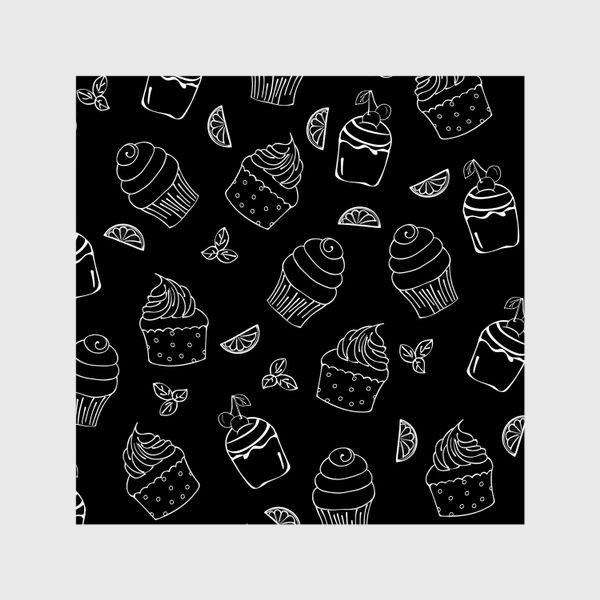 Шторы «кексы и пирожные»