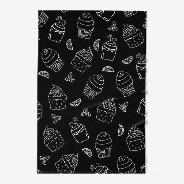 Полотенце «кексы и пирожные»