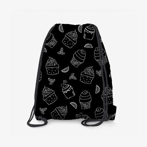Рюкзак «кексы и пирожные»