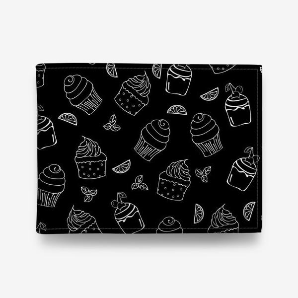 Кошелек «кексы и пирожные»