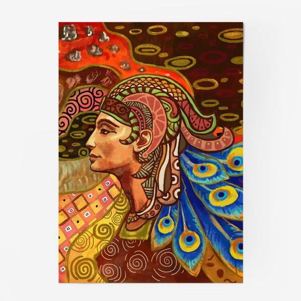 Постер «Дева знак гороскопа»
