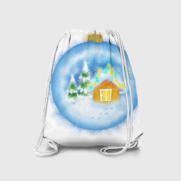 Рюкзак «Стеклянный елочный шар»
