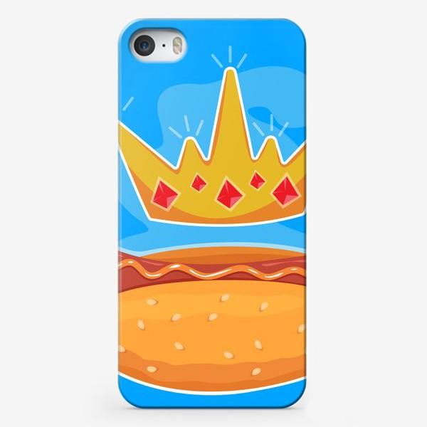 Чехол iPhone «Царский хот-дог»