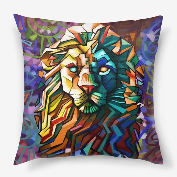 Подушка «знак зодиака лев»