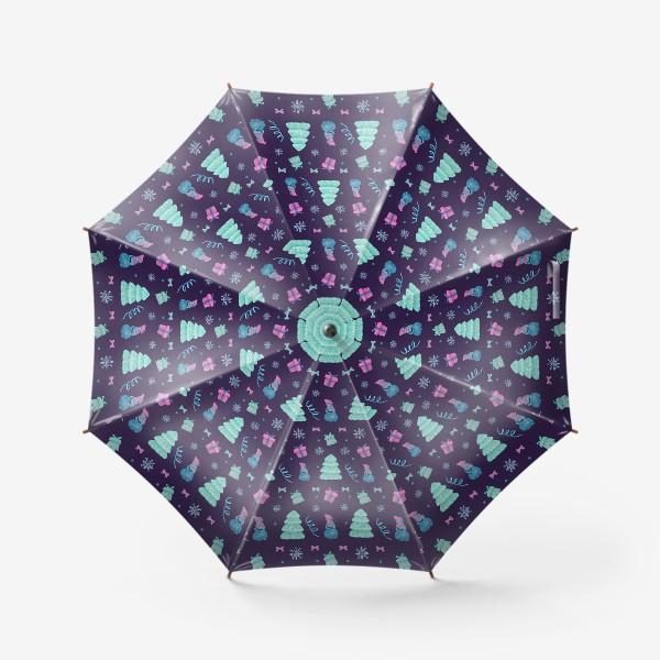 Зонт «Снеговички»