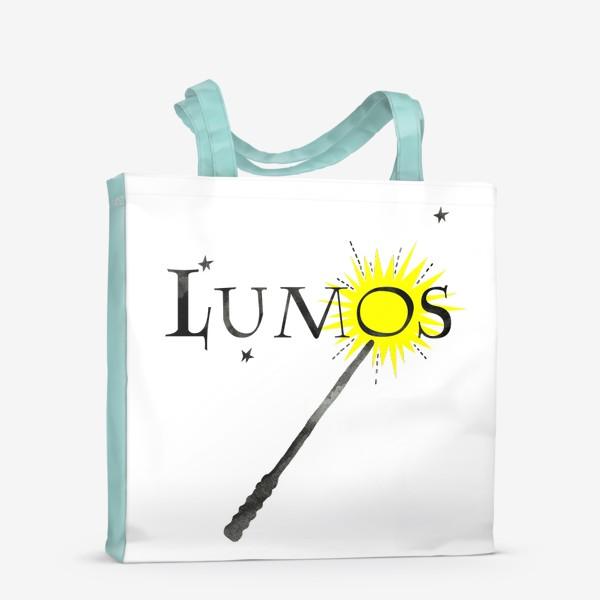 Сумка-шоппер «Заклинание Люмос. Волшебство. Хогвартс.»