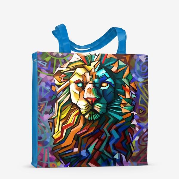 Сумка-шоппер «знак зодиака лев»