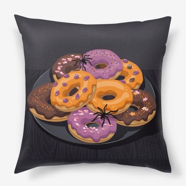 Подушка «Пончики»