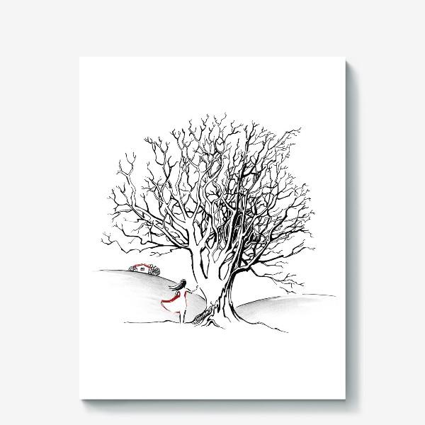 Холст «Дерево»