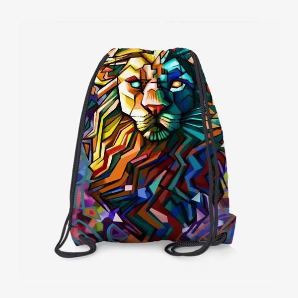 Рюкзак «знак зодиака лев»