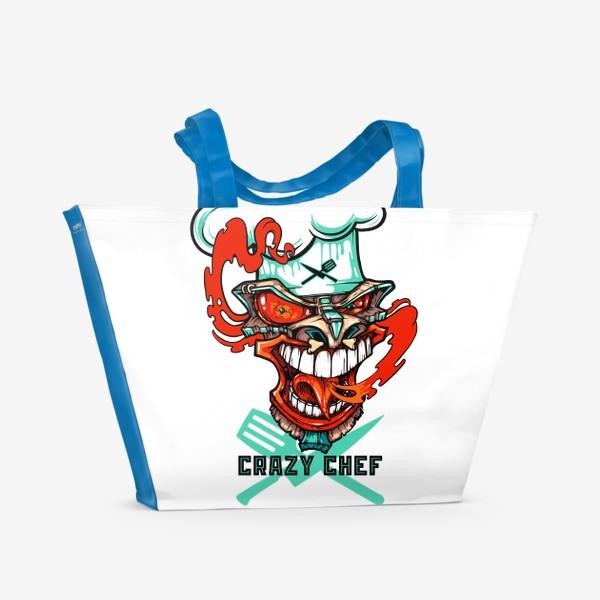 Пляжная сумка «Tiki crazy shef»