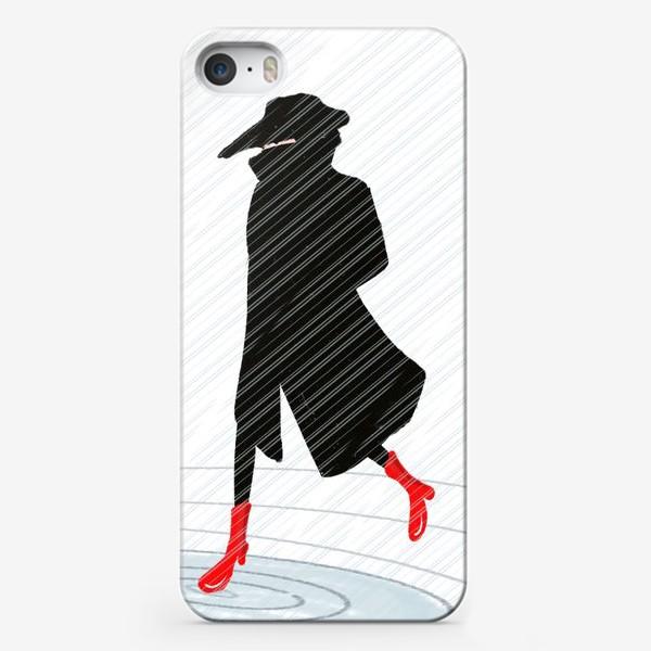 Чехол iPhone «Дождь »