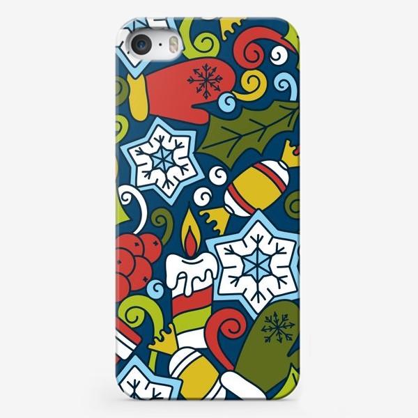 Чехол iPhone «Рождественский вечер»
