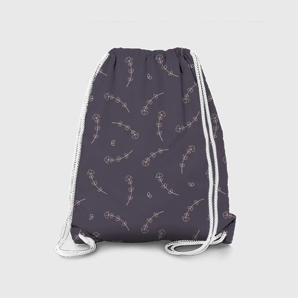 Рюкзак «Цветочный паттерн.»