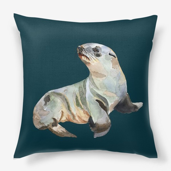 Подушка «Морской котик»
