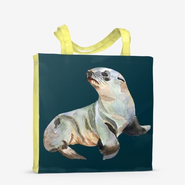 Сумка-шоппер «Морской котик»