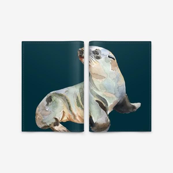 Обложка для паспорта «Морской котик»
