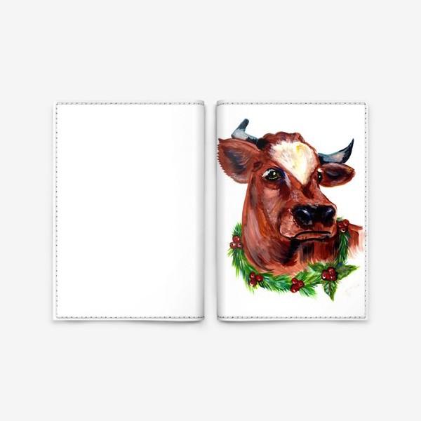 Обложка для паспорта «Год Быка»