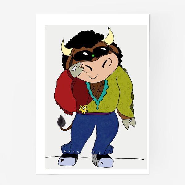 Постер «Год быка 2021»