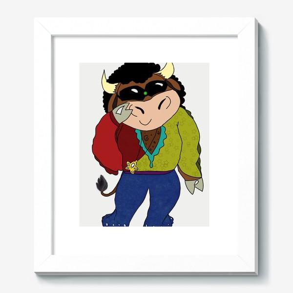 Картина «Год быка 2021»