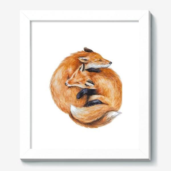 Картина «Лисы»