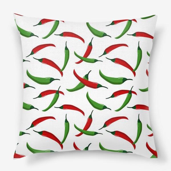 Подушка «Острые  перцы»
