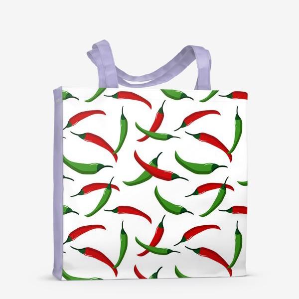 Сумка-шоппер «Острые  перцы»