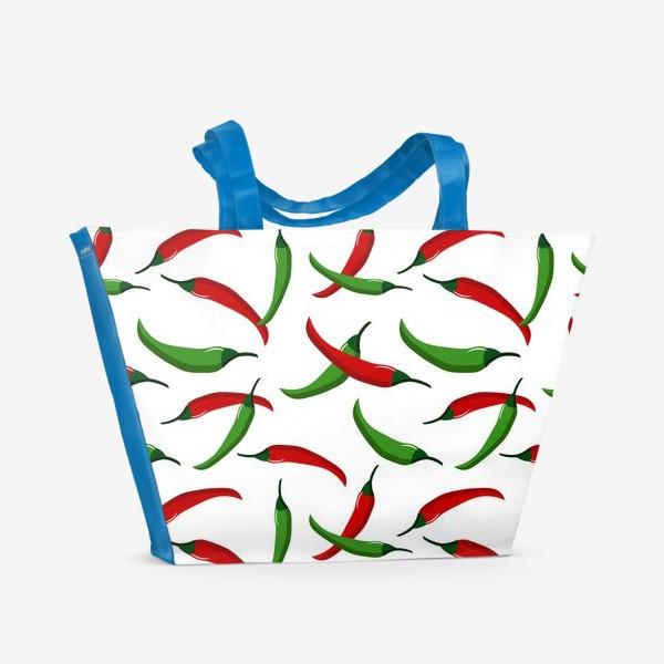 Пляжная сумка «Острые  перцы»