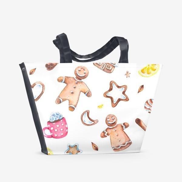 Пляжная сумка «Имбирное настроение»