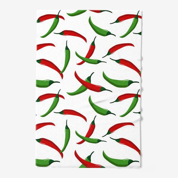 Полотенце «Острые  перцы»