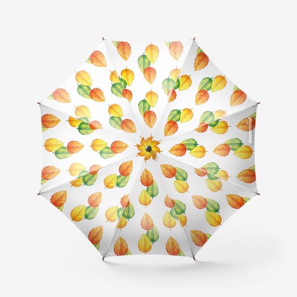 Зонт «Осенние листья»