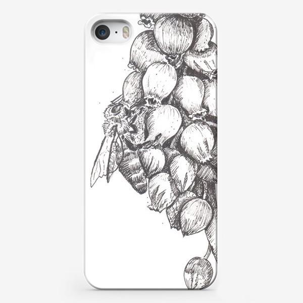 Чехол iPhone «Мускари и пчела»