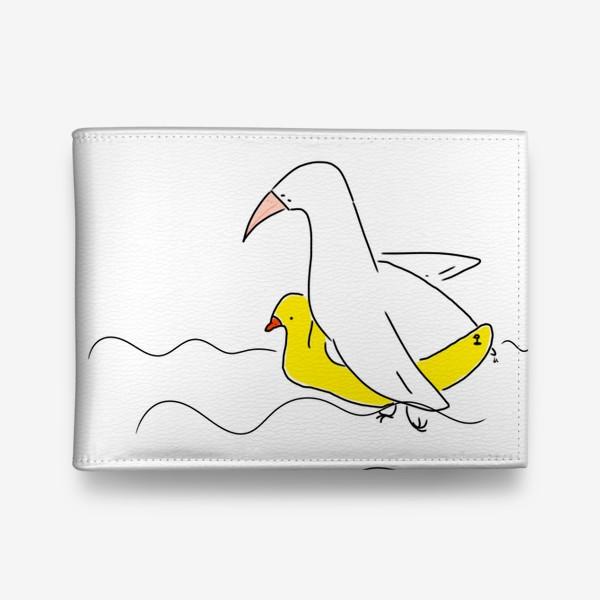 Кошелек «Птица в спасательном круге »