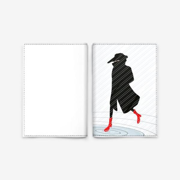 Обложка для паспорта «Дождь »