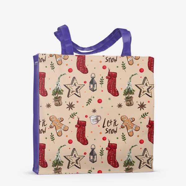 Сумка-шоппер «Новогодний декор»