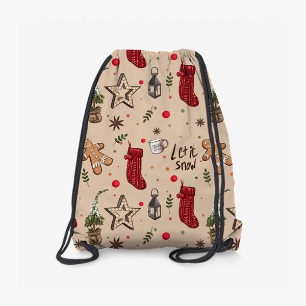 Рюкзак «Новогодний декор»