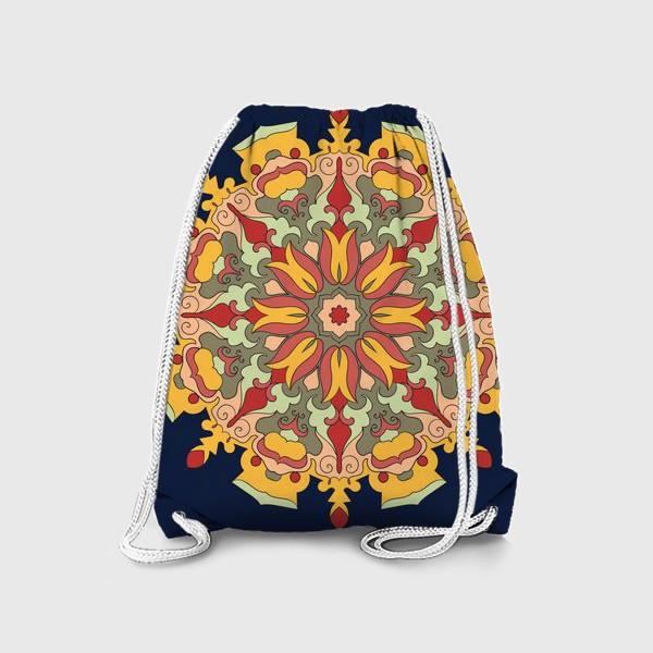 Рюкзак «Круговой орнамент в восточном стиле»