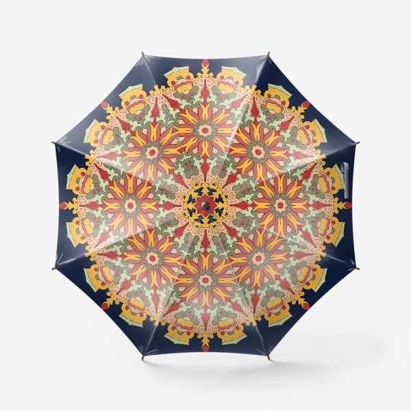 Зонт «Круговой орнамент в восточном стиле»