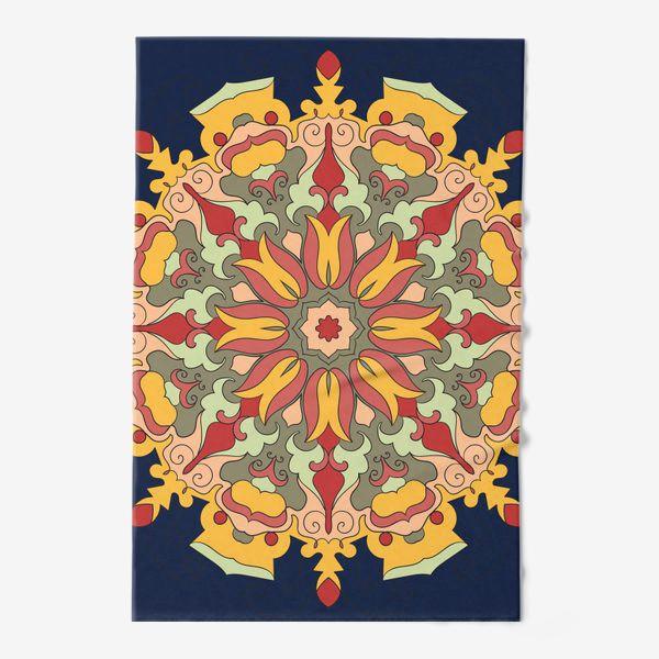Полотенце «Круговой орнамент в восточном стиле»