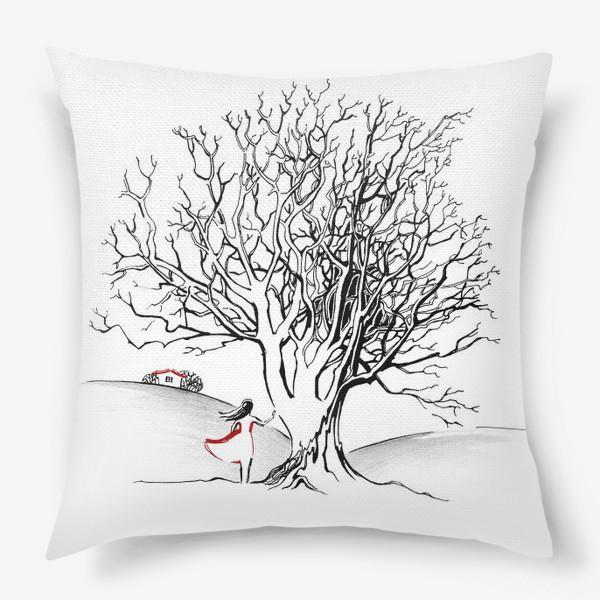 Подушка «Дерево»