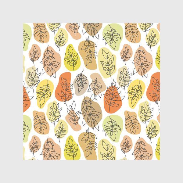 Шторы «Разноцветные листья. Осень.»