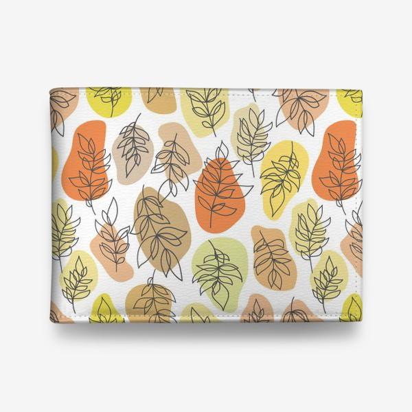 Кошелек «Разноцветные листья. Осень.»