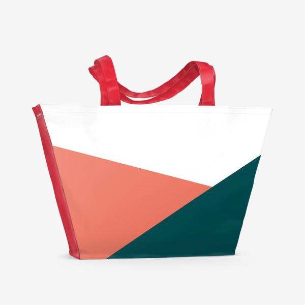 Пляжная сумка «Геометрия /Geometry»