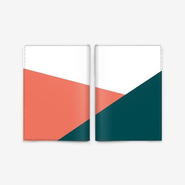Обложка для паспорта «Геометрия /Geometry»