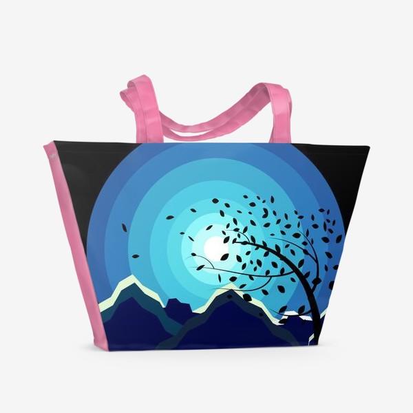 Пляжная сумка «Горный ветер»