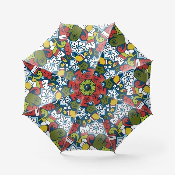 Зонт «Рождественский вечер»
