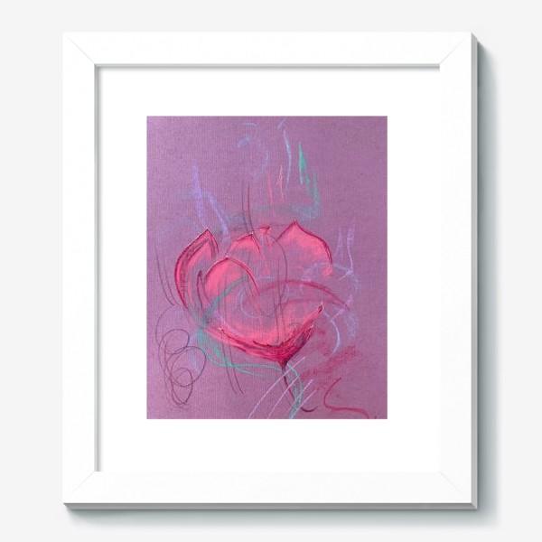 Картина «Девушка - цветок»
