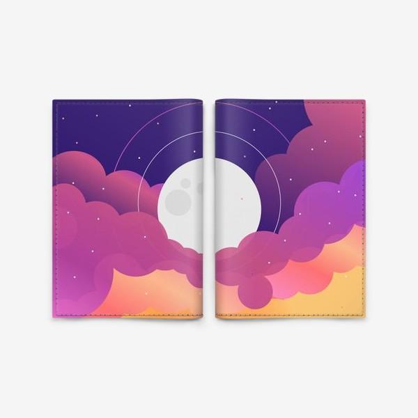 Обложка для паспорта «Космос»