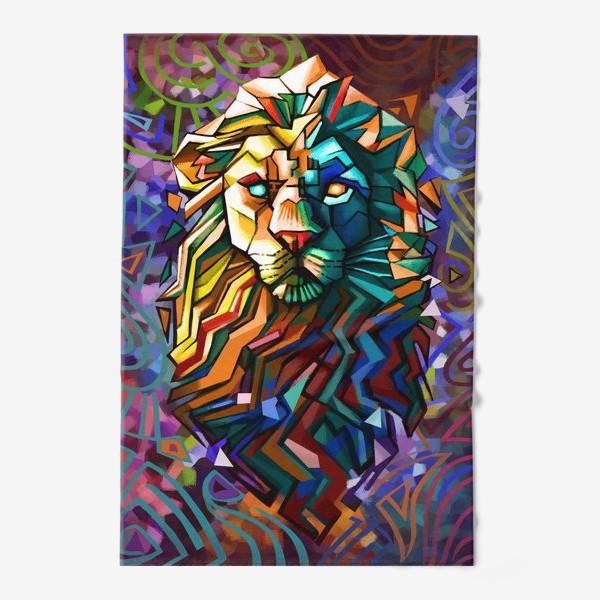Полотенце «знак зодиака лев»