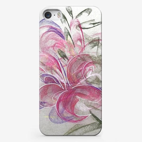 Чехол iPhone «Цветок с Бали»